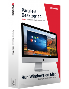 Parallels Desktop 14 for Mac Download (1 Year Subscription)