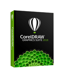 CorelDRAW Graphics Suite 2018 - (Retail Box)