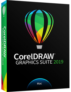 CorelDRAW Graphics Suite 2019 for Mac (Download)