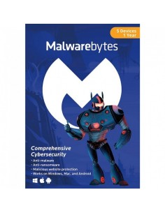 Malwarebytes Anti-Malware Premium for 5 Devices Download (1 Year)