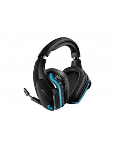 Logitech G935 DTS:X 7.1 Surround Sound LIGHTSYNC Wireless Gaming Headset (Black)