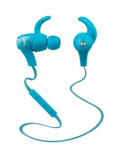 Monster iSport Achieve In-ear Wireless Headphones with Mic (Blue)