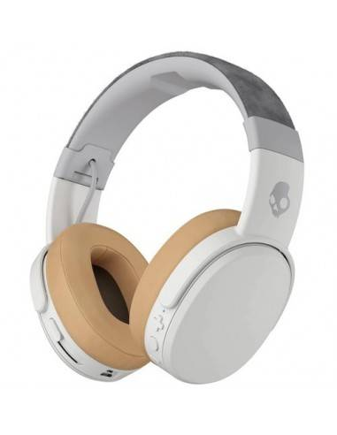 Skullcandy Crusher Wireless Over-Ear Headphones (Gray/Tan)