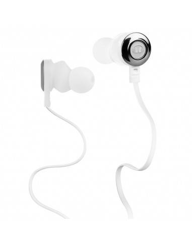 Monster Clarity HD High Definition Noise Isolating In-Ear Headphones (White)