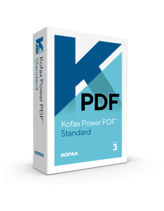 Kofax Power PDF Standard 3.0 (Retail Box)