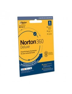Norton 360 Deluxe (5 Device / 1 Year) Download