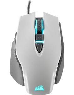 Corsair M65 RGB Elite 18000 DPI FPS Gaming Mouse (White)