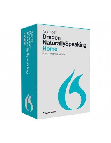 Nuance Dragon NaturallySpeaking 13 Home (Retail Box)