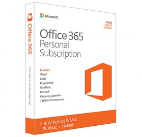 Microsoft Office 365 Personal (One-Year Subscription) Download