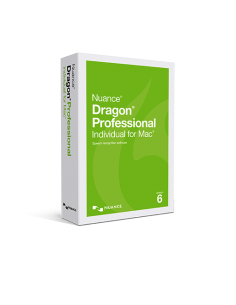 Nuance Dragon Professional Individual for Mac Version 6 (Download)