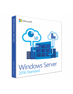 Microsoft Windows Server 2016 Standard 10 CAL Retail Box
